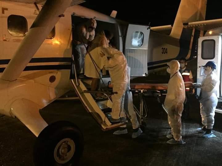 image for Trasladó hacia Iquitos a nueve personas infectadas de Covid-19