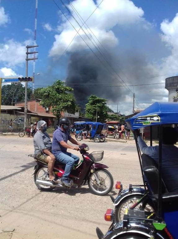 image for Incendio en el Distrito de Manantay
