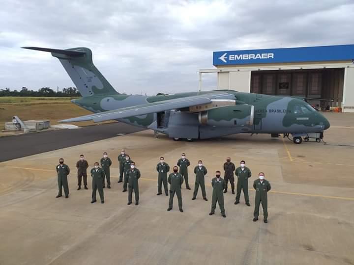 image for Embraer /  Entregamos para a Força Aérea Brasileira o terceiro avião de transporte multimissão