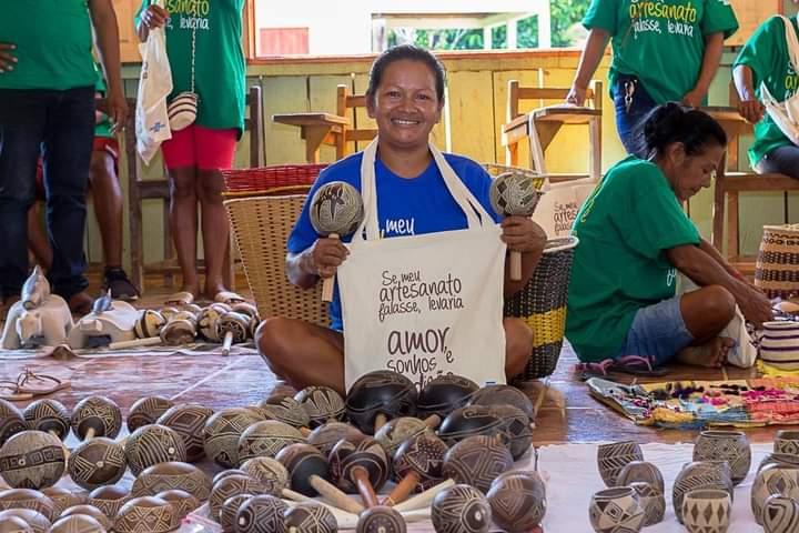 image for Artesãs Indígenas participaram da I Rodada de Negócios Virtual