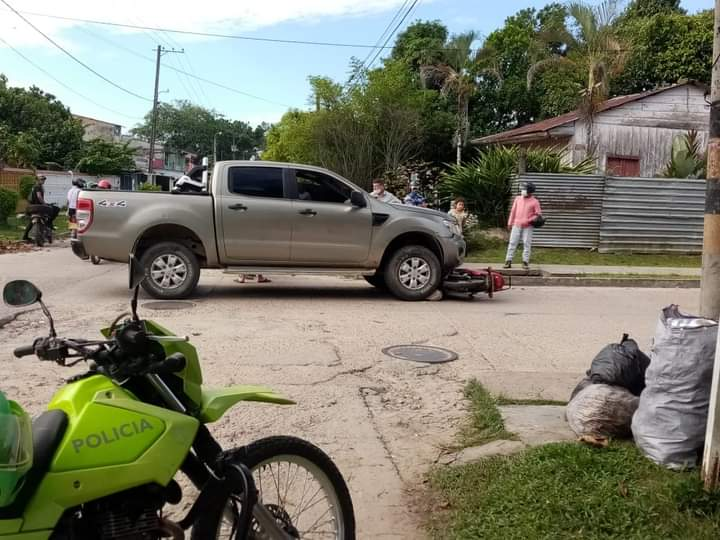 image for Accidente en calle 9 con carrera 8