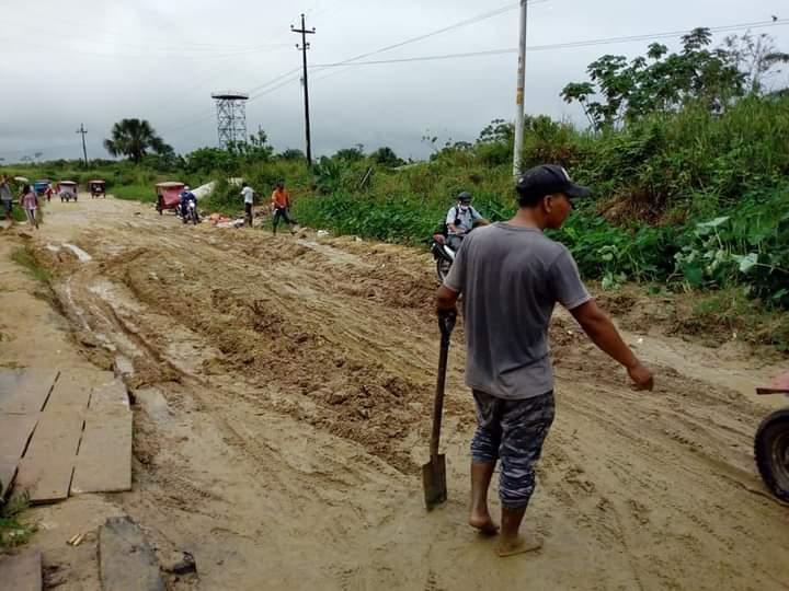 image for Moradores de Santo Tomás piden el mantenimiento de las carreteras