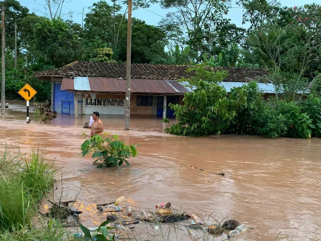 image for Intensas lluvias producidas el fin de semana