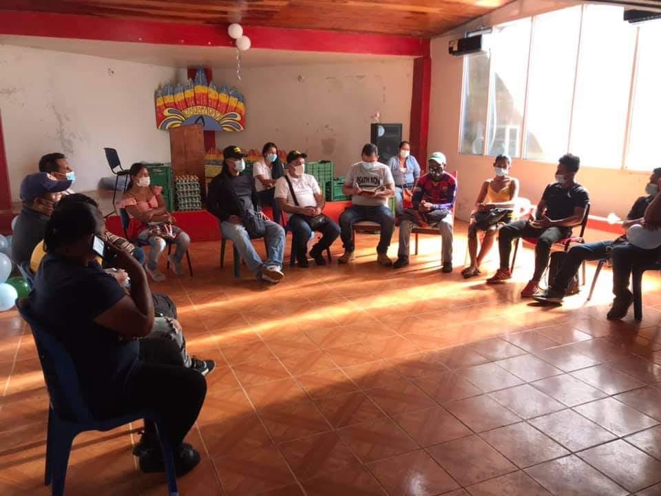 image for Alcalde socializa trabajo que viene realizando con Curacas