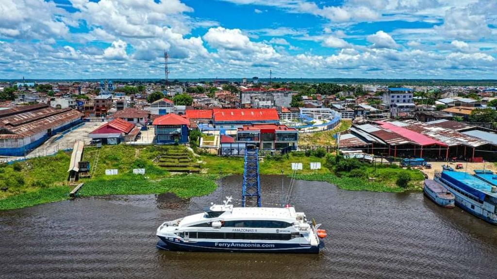 image for Ferry Amazonas II se prepara para iniciar operaciones