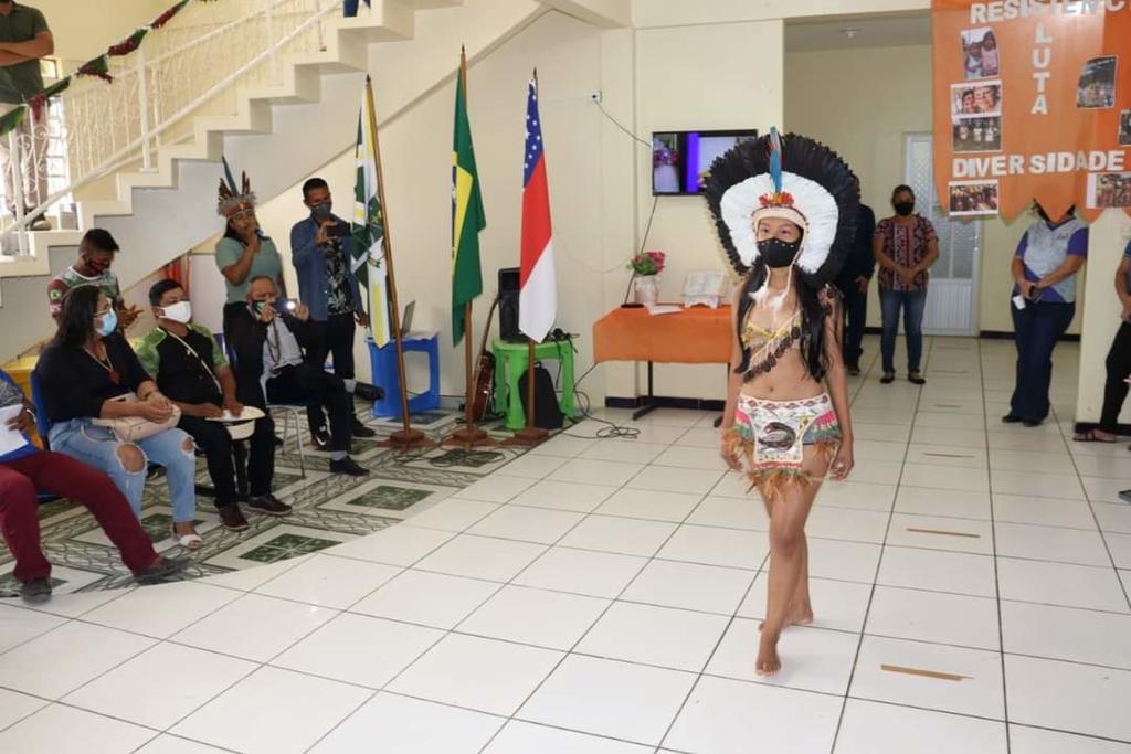image for SEMED de Benjamin Constant faz homenagem ao Dia do Índio