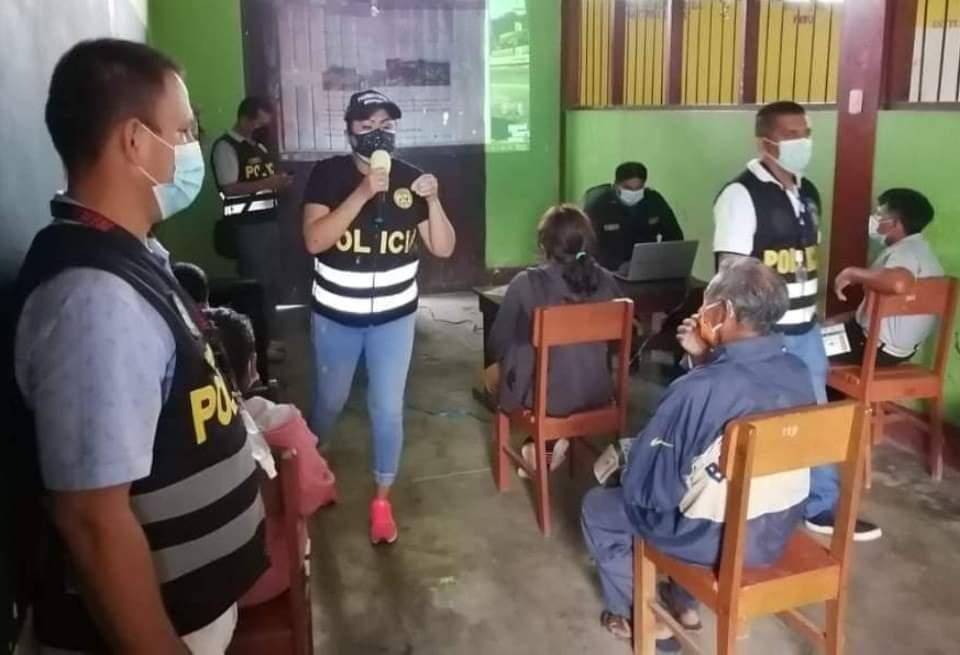 image for Policía comunitaria realiza campaña de sensibilización