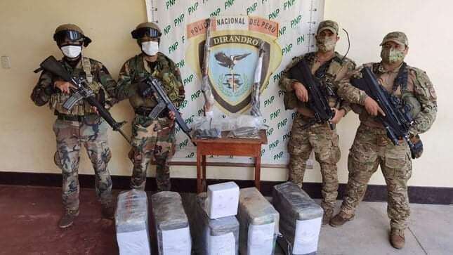 image for Incauta más de 200 kilos de cocaína en Huánuco