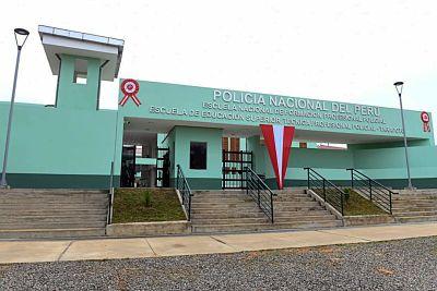 image for Inauguran infraestructura de la Escuela de Suboficiales de la Policía Nacional en Tarapoto