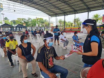 image for Dirección Regional de Salud Loreto, a través de su Dirección de Comunicaciones y Diremid