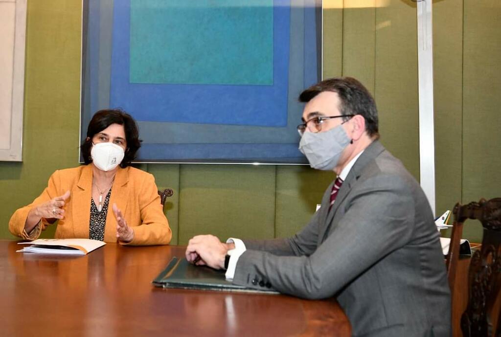 image for Presidente da Fiocruz em encontro com o ministro de Relações