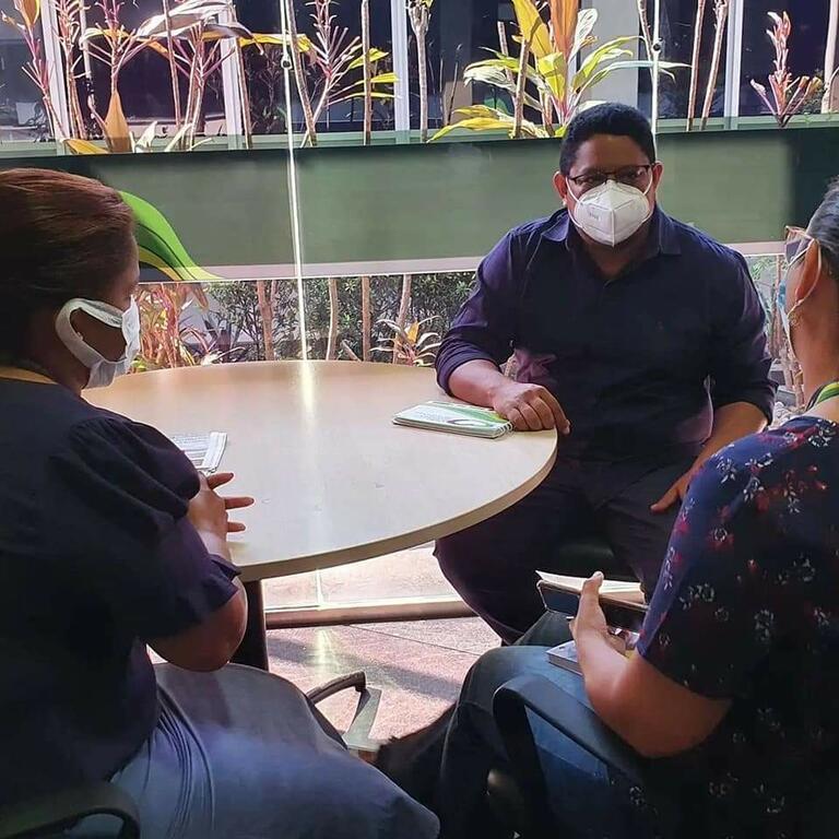 image for Plínio Cruz se reuniu com o Secretário de Saúde do Estado