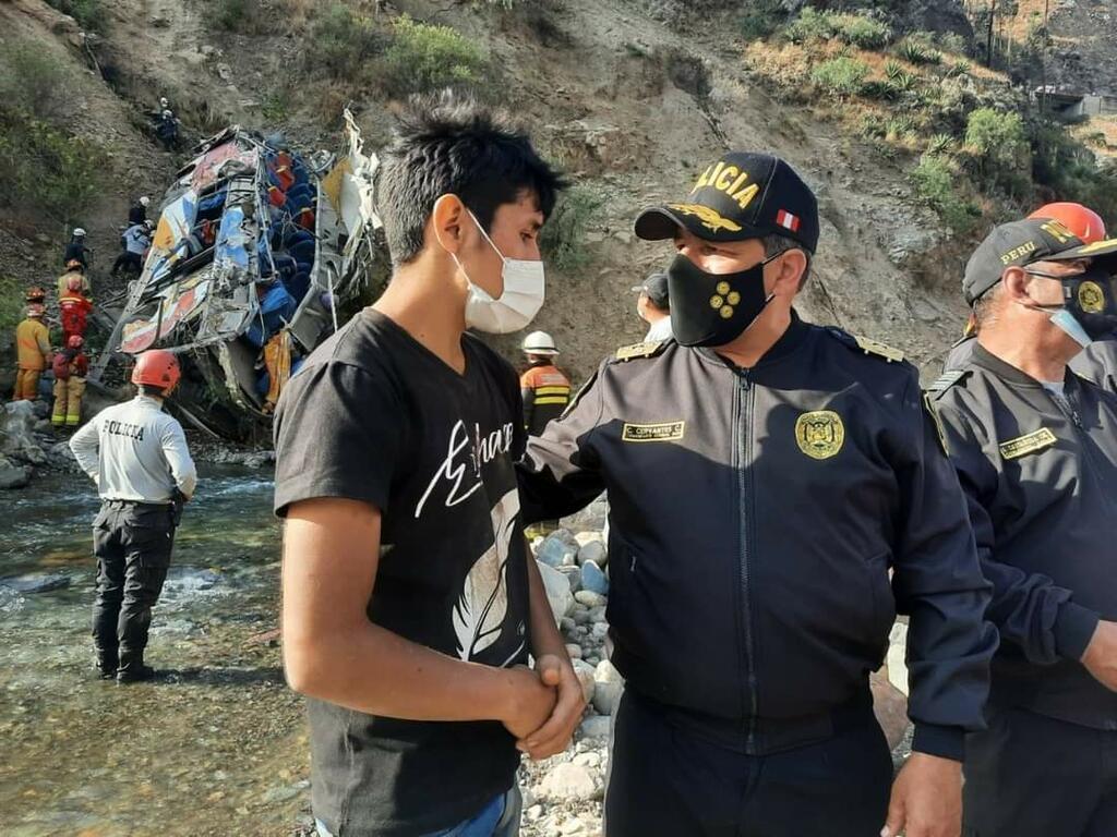 image for Labores de rescate en Matucana