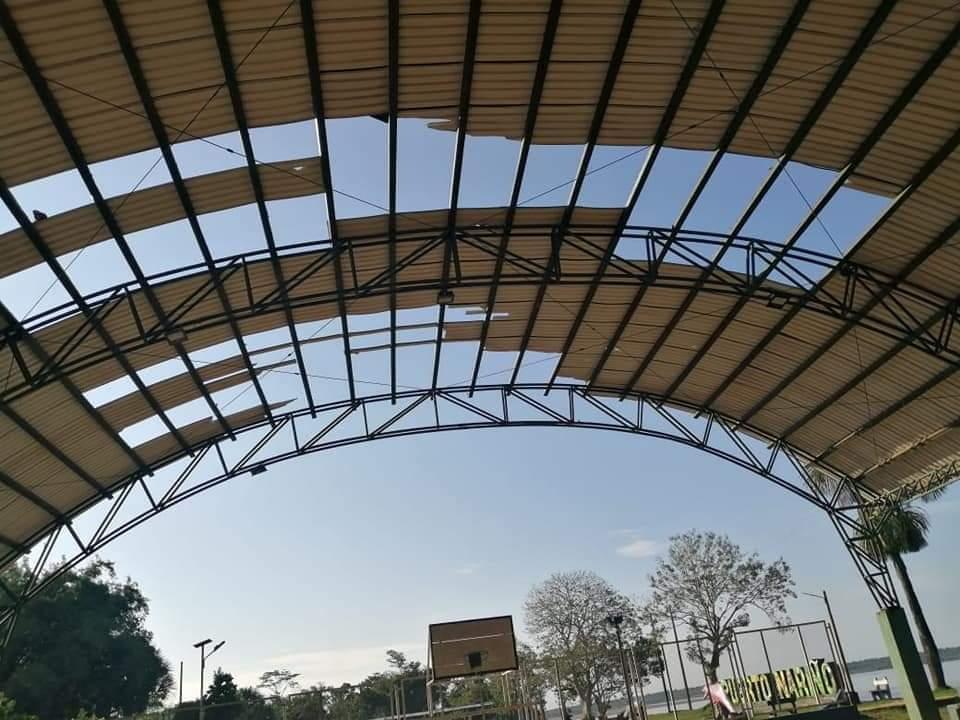 image for Daños en el Coliseo Municipal debido a vendaval