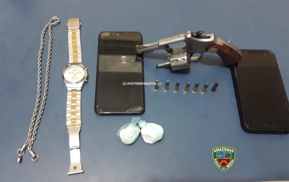image for Polícia Militar detém dupla em posse de arma de fogo em Tabatinga