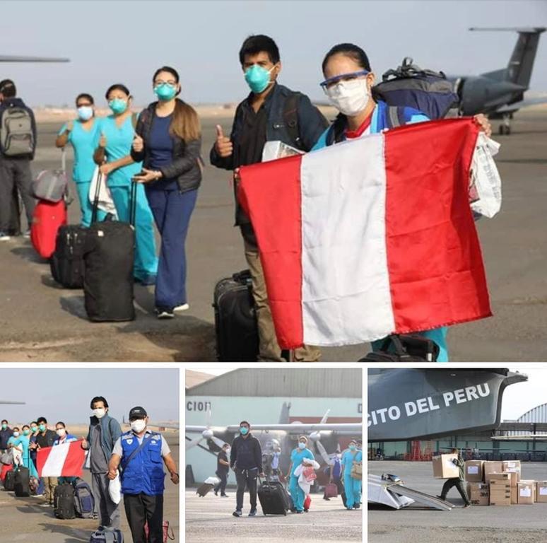 image for Personal de salud viaja a Iquitos para combatir el Covid-19