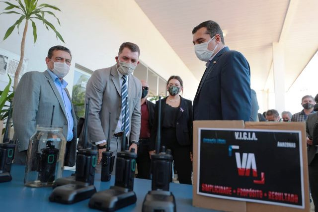 image for Parintins recebe equipamentos de novo sistema de radiocomunicação