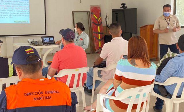 image for ICA en el Amazonas realizó un comité de sanidad portuaria