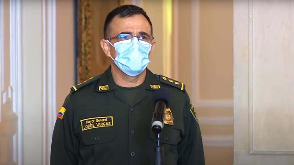 image for Jorge Luis Vargas es el nuevo director general en la policía
