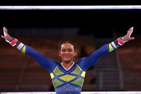 image for Rebeca Andrade fica com a prata na ginástica olímpica