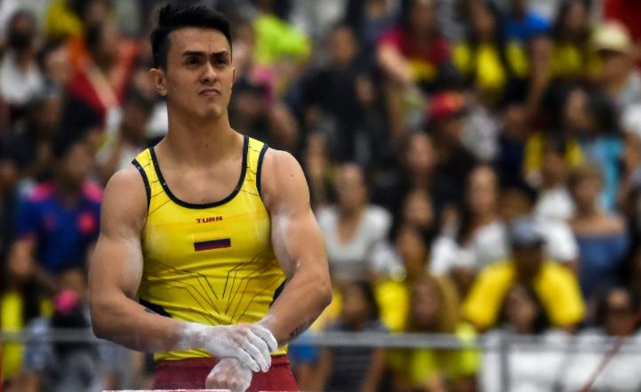 image for Jossimar Calvo se pierde la final de gimnasia artística
