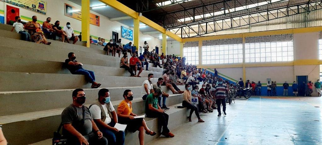 image for Reunião/  Ginásio do GM3 com o vice prefeito Plínio Cruz