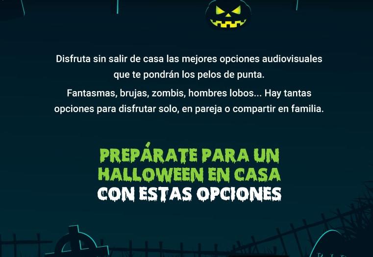 image for Películas y series para disfrutar este Halloween en casa
