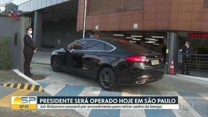 image for Bolsonaro chega a hospital de SP para passar por cirurgia