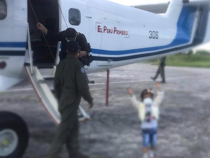 image for Menor trasladada en aeronave para recibir atención médica