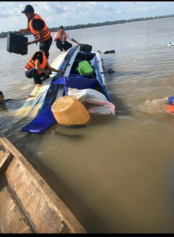 image for Embarcação expresso Olivença naufraga no Rio Solimões