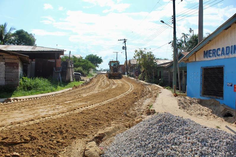 image for Prefeitura de Atalaia do Norte inicia recuperação de trecho crítico da rua