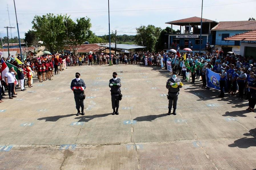 image for Cerimônia Cívica em comemoração  da Independência em Atalaia do Norte