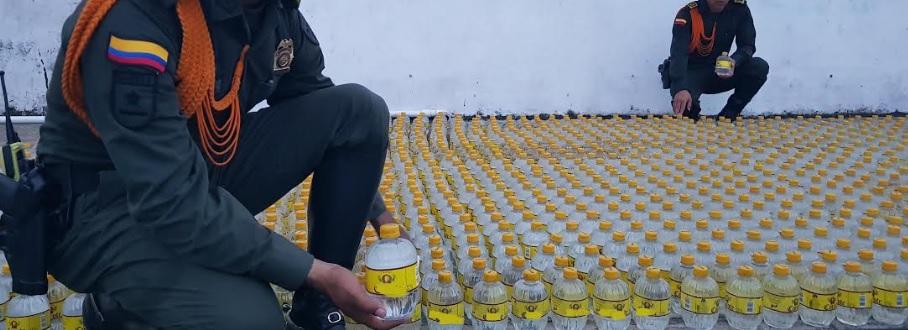 image for Incauta licor extranjero en el aeropuerto del Leticia
