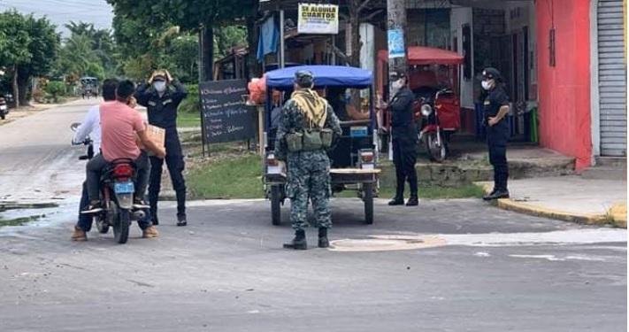 image for Patrullan calles para vigilar que se cumplan las medidas covid-19