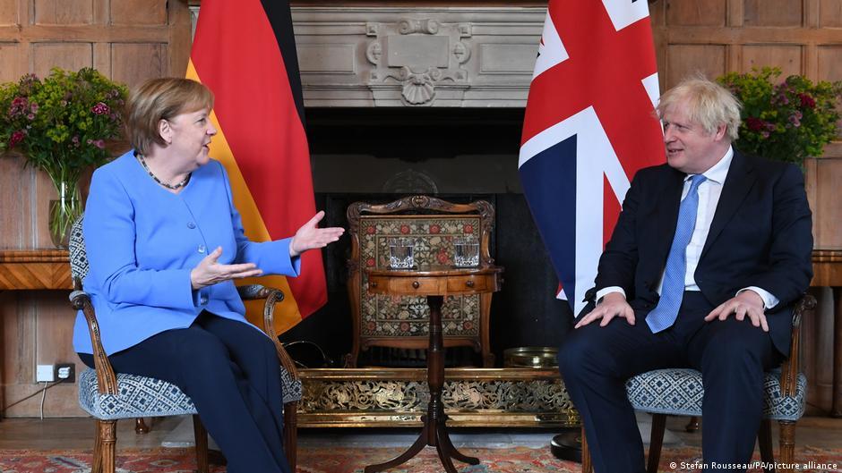 image for Angela Merkel llega a Londres para su última visita oficial al Reino Unido