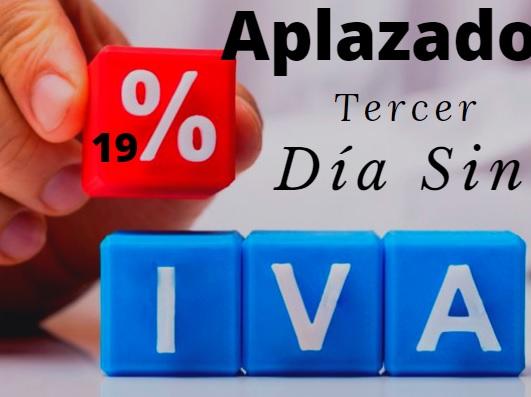 image for Aplazado tercer día sin IVA
