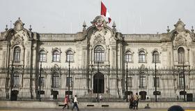 image for Pedro Castillo ya despacha desde Palacio de Gobierno