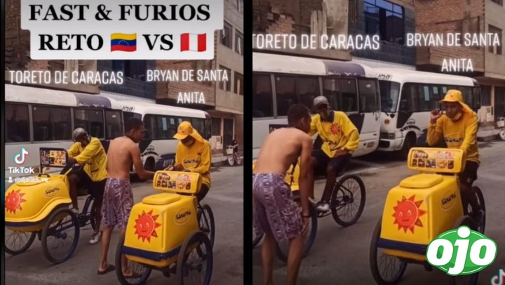 image for Heladero peruano se enfrenta a venezolano