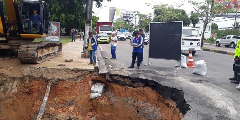 image for Recuperação emergencial na avenida Djalma Batista