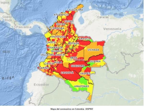 image for Colombia tiene 45 municipios sin coronavirus