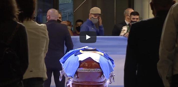 image for Casa de Rosada / El adiós a Diego Maradona / Conmovedora y masiva ceremonia