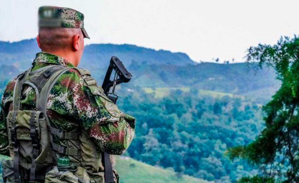 image for Ejército dio duro golpe a la estructura criminal del Eln