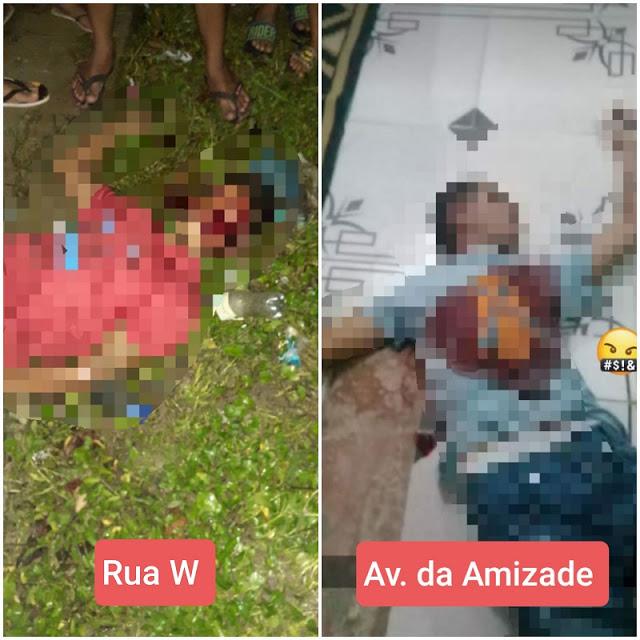 image for Noite violenta dois homens assassinados ontem