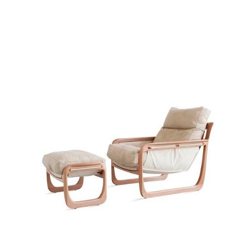 Muebles en una foto de fondo blanco