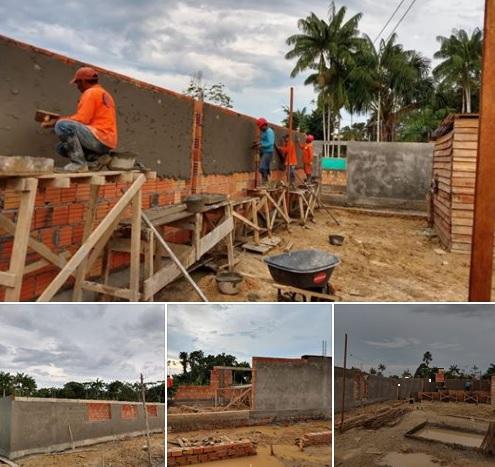 Obras novo centro de ensino