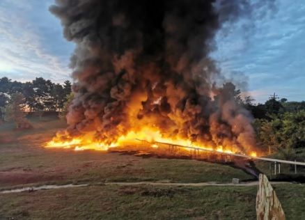 image for Explosión en oleoducto de Barrancabermeja