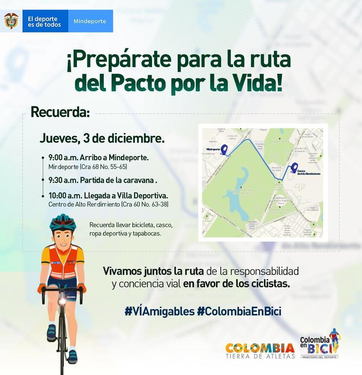 image for Invitación firma Pacto por la vida y la responsabilidad vial | 30 de noviembre de 2020