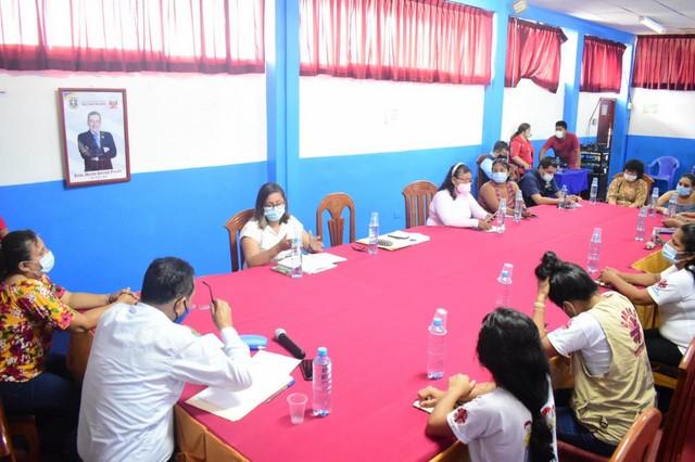 image for San Juan realiza mesa de trabajo contra la violencia hacia la mujer