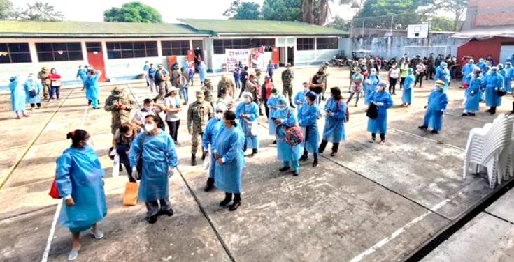 image for Diresa junto a Ejército Peruano inician Operación TAYTA