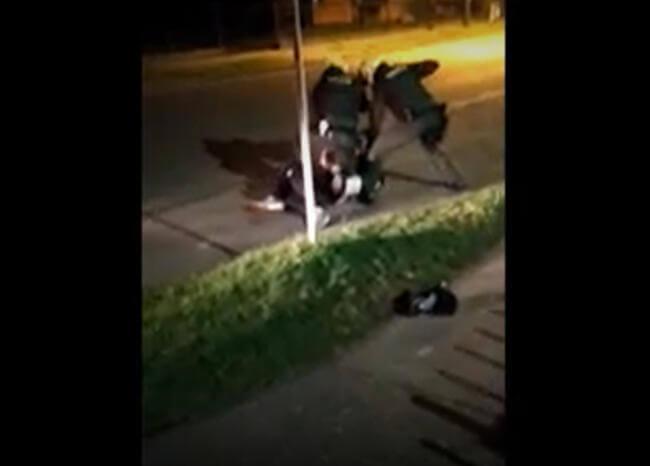 image for Agresión policial deja a una persona muerta
